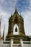 Belltower at Wat pho in Bangkok Stock Photography