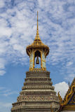 Belltower in wat phra keaw Stockfotos
