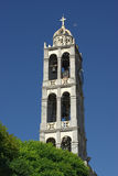 Belltower Of White Stone Stock Photography