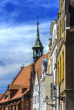 Belltower Wismar Germany Heiligen Geist Royalty Free Stock Image