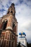 Belltower y catedral del arcángel Michael Fotografía de archivo libre de regalías