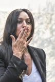 bellucci Μόνικα ηθοποιών Στοκ Φωτογραφία