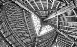 BELLUNE, ITALIE - AOÛT 2013 : Petit intérieur d'église en Val Visde Image libre de droits