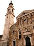 Belluno Capital Church Tower Stock Photos