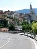 Belluno Road Town Italy Stock Photos