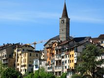 Belluno Town Village Italy Royalty Free Stock Photography