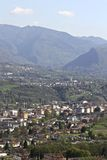 Belluno: view from San Liberale church Royalty Free Stock Photos