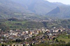 Belluno: view from San Liberale church Stock Photos
