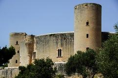 Bellver城堡在帕尔马 免版税库存照片