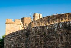 Bellver城堡堡垒在帕尔马 库存图片