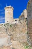 Bellver城堡堡垒 库存照片