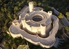 Bellver城堡天线 免版税图库摄影