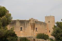 Bellver城堡帕尔马西班牙 免版税库存照片