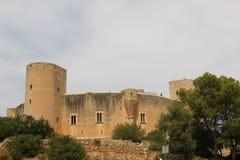 Bellver城堡帕尔马西班牙 图库摄影