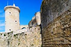 Bellver城堡 图库摄影