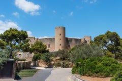 Bellver城堡Castillo 免版税库存图片