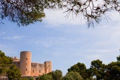 bellver城堡majorca palma 免版税库存图片