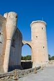 bellver castell de Royaltyfria Foton