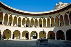 bellver Castell de Zdjęcie Stock