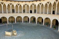 bellver castell de Arkivbild