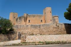bellver castell de Royaltyfri Fotografi