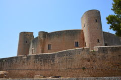 Bellver Castle, (Castell de Bellver) Majorca, Spain Royalty Free Stock Images
