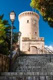 Bellver Castle-entrance stock image