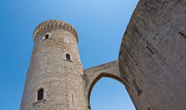 Bellver castle exterior Royalty Free Stock Photo
