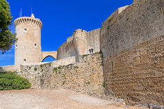 The Bellver Castle fortress Stock Photography