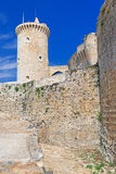 The Bellver Castle fortress Stock Photo