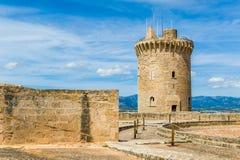 Bellver Castle royalty free stock photo
