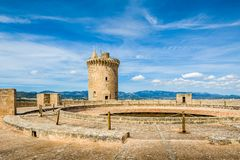 Bellver Castle Royalty Free Stock Photos
