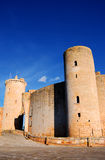 Bellver Castle (Majorca). View of Bellver Castle in Majorca (Spain Stock Photo