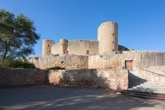 Bellver Castle, Mallorca, Balearic islands, Spain royalty free stock image
