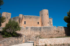 Bellver Castle in Mallorca, Spain royalty free stock photo