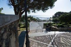 Bellver castle morning view Stock Photo