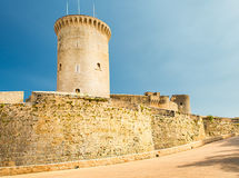Bellver Castle Palma Royalty Free Stock Image
