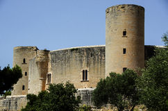 Bellver Castle in Palma de Mallorca Royalty Free Stock Photo