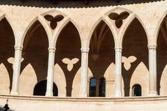 Bellver Castle, Palma de Mallorca Stock Image