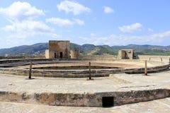 Bellver Castle in Palma de Mallorca. Spain Royalty Free Stock Photo