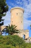Bellver Castle in Palma de Mallorca royalty free stock photography