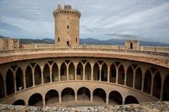Bellver Castle, Palma de Mallorca Stock Photo