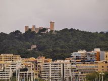 Bellver Castle in Palma of Majorca Stock Photos