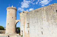Bellver castle, Palma of Mallorca, Spain Stock Images