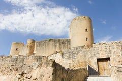 Bellver Castle, Palma, Mallorca. View of the Bellver Castle, Palma, Mallorca, Spain Royalty Free Stock Photography