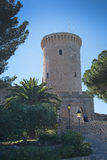 Bellver castle tower Royalty Free Stock Photo