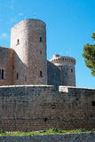 Bellver castle tower Royalty Free Stock Photography