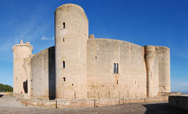 Bellver Schloss (Majorca) Lizenzfreies Stockfoto