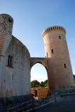 Bellver Schloss (Majorca) Lizenzfreies Stockbild