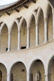 Bellver-Schloss, Palma de Mallorca Lizenzfreies Stockbild